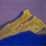 Roerich N.K. (Part 5) - The Himalayas # 39 The Golden Rock