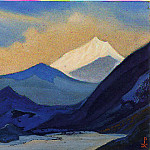 Roerich N.K. (Part 5) - The Himalayas # 113 The beginning of a new day