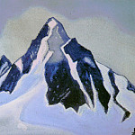 Roerich N.K. (Part 1) - The Himalayas # 109 The Black Peak