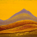 Roerich N.K. (Part 5) - Evening # 218 Evening (Orange magic)