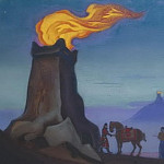 Roerich N.K. (Part 5) - Victory Lights # 18 victories lights (Sentinel lights on Gobi towers)