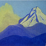 Roerich N.K. (Part 4) - Himalayas # 122 Mountain peak