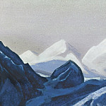 Roerich N.K. (Part 5) - The Himalayas # 134 The Blue Glacier