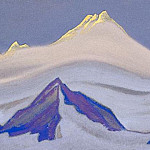 The Himalayas # 116 The Sun Peak, Roerich N.K. (Part 5)