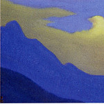 Roerich N.K. (Part 5) - Cloud # 82 (Golden cloud over mountain slopes)