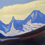 The Himalayas # 102 The Blue Chain, Roerich N.K. (Part 5)