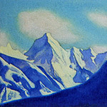 Roerich N.K. (Part 5) - The Himalayas # 121 The Snow Ridge