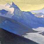 Himalayas # 99 U most snow, Roerich N.K. (Part 5)