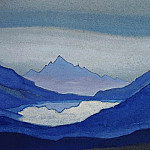 Mountain lake, Roerich N.K. (Part 5)