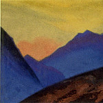 Roerich N.K. (Part 5) - Evening # 29 Evening (blue mountains)