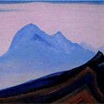 Roerich N.K. (Part 5) - The Himalayas # 23 The blue cliff at dawn
