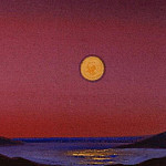 Roerich N.K. (Part 5) - Himalayas. The setting moon