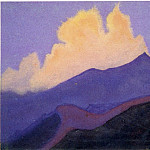 Roerich N.K. (Part 5) - Hills # 34 (Himalayas. Clouds)