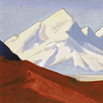 Roerich N.K. (Part 5) - Himalayas # 5 White and pink heights