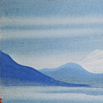 Roerich N.K. (Part 5) - Morning # 83 (Mountain a silvery light)