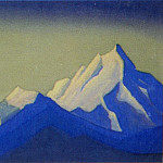 Roerich N.K. (Part 5) - The Himalayas # 114 The blue shadows