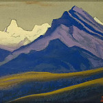 Roerich N.K. (Part 1) - The Himalayas # 44 The Spurs of the Colored Mountains