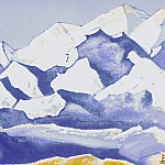 Roerich N.K. (Part 5) - The Himalayas # 60 The Space of Eternal Snows