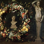 Frans Snyders, Flemish , 1579-1657 -- Still Life with Terms and a Bust of Ceres, Philadelphia Museum of Art