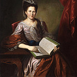 Philadelphia Museum of Art - Charles Willson Peale, American, 1741-1827 -- Portrait of Mrs. John B. Bayard