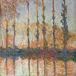 Philadelphia Museum of Art - Claude Monet, French, 1840-1926 -- Poplars on the Bank of the Epte River