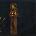 Master of Montelabate, Italian , documented 1285 -- Saint Francis of Assisi and a Franciscan Devotee, Philadelphia Museum of Art