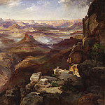 Thomas Moran, American, 1837-1926 -- Grand Canyon of the Colorado River, Philadelphia Museum of Art