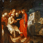 Jan Symonsz. Pynas, Dutch , 1583-1631 -- The Raising of Lazarus, Philadelphia Museum of Art