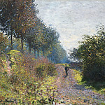 The Sheltered Path, Claude Oscar Monet