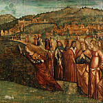 Vittore Carpaccio, Italian , first documented 1490, died 1523-26 -- The Metamorphosis of Alcyone, Philadelphia Museum of Art