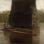 Philadelphia Museum of Art - Thomas Eakins, American, 1844-1916 -- The Pair-Oared Shell