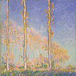 Philadelphia Museum of Art - Claude Monet, French, 1840-1926 -- Poplars