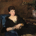 Édouard Manet, French, 1832-1883 -- Portrait of Isabelle Lemonnier, Philadelphia Museum of Art