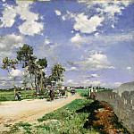 Giovanni Boldini, Italian, 1842-1931 -- Highway of Combs-la-Ville, Philadelphia Museum of Art