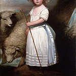 Philadelphia Museum of Art - George Romney, English, 1734-1802 -- Shepherd Girl