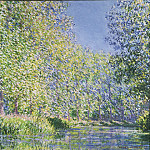 Bend in the Epte River near Giverny, Claude Oscar Monet