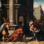 Bernard van Orley, Netherlandish , first documented 1515, died 1542 -- The Adoration of the Magi, Philadelphia Museum of Art