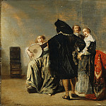 Philadelphia Museum of Art - Pieter Codde, Dutch (active Amsterdam), 1599-1678 -- The Lute Player