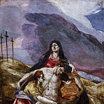 Philadelphia Museum of Art - El Greco (Domenicos Theotocopulos), Spanish (born Crete, active Italy and Toledo), 1541-1614 -- Lamentation