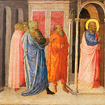 Giovanni Toscani , Italian , c. 1370-80-1430 -- Presentation of Christ in the Temple, Philadelphia Museum of Art
