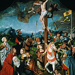 Jan Mostaert, Netherlandish , 1472/75-1555/56 -- The Crucifixion, Philadelphia Museum of Art