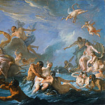 Noël-Nicolas Coypel, French, 1690-1734 -- The Abduction of Europa, Philadelphia Museum of Art