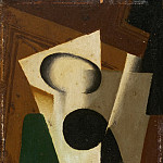 Philadelphia Museum of Art - Juan Gris (José Victoriano González Pérez), Spanish, 1887-1927 -- Still Life with a Glass