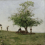 Mending the Net, Thomas Eakins