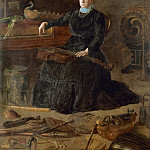 Philadelphia Museum of Art - Thomas Eakins, American, 1844-1916 -- Antiquated Music (Portrait of Sarah Sagehorn Frishmuth)