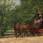 Thomas Eakins, American, 1844-1916 -- A May Morning in the Park , Philadelphia Museum of Art