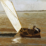 Thomas Eakins, American, 1844-1916 -- Sailing, Philadelphia Museum of Art