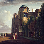 Philadelphia Museum of Art - Paul Sandby, English, 1730-1809 -- The North Terrace at Windsor Castle, Looking East