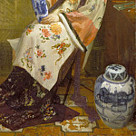 The Lady of the Lang Lijsen, James Abbott Mcneill Whistler