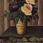Still Life with Flowers, Henri Rousseau